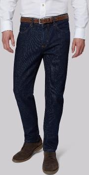 Moss 1851 , Tailored Fit Rinse Wash Jeans