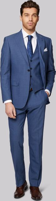 Moss 1851 , Performance Tailored Fit Faded Blue Jacket