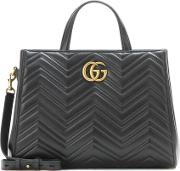 Gucci , Gg Marmont Matelasse Leather Tote