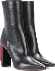Vetements , Leather Ankle Boots