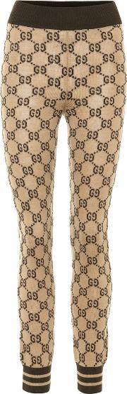 Gucci , Knitted Wool Leggings