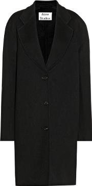 Acne Studios , Landi Wool And Cashmere Coat