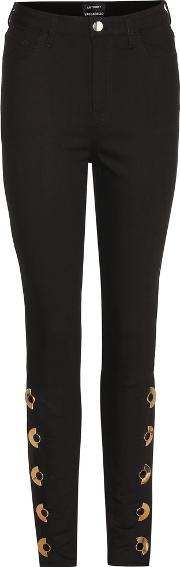 Anthony Vaccarello , Embellished Skinny Jeans
