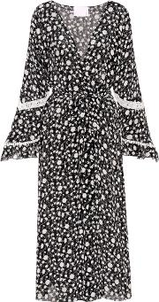 Athena Procopiou , Night Dream Printed Silk Kimono