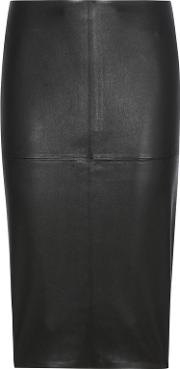 By Malene Birger , Floridia Leather Pencil Skirt