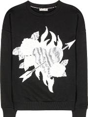 Each X Other , Embroidered Cotton Sweater
