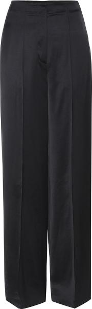 Edun , Wide Legged Sateen Trousers
