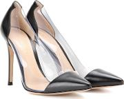 Gianvito Rossi , Leather And Transparent Pumps