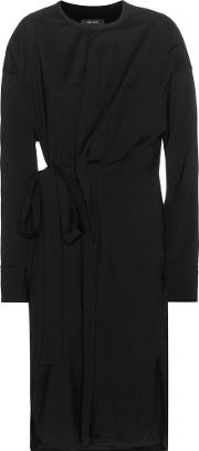 Isabel Marant , Dias Silk And Wool Blend Wrap Style Dress