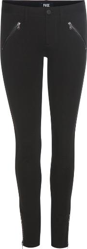 Paige , Dover Zip Skinny Trousers
