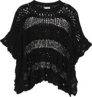 See By Chloe , Knitted Cotton Poncho