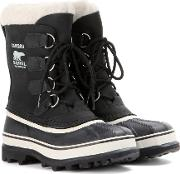 Sorel , Caribou Leather And Rubber Boots