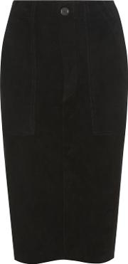 Stouls , Lino Suede Skirt