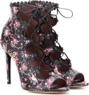 Tabitha Simmons , Farraday Printed Leather Sandals