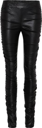 The Row , Orshen Leather Trousers