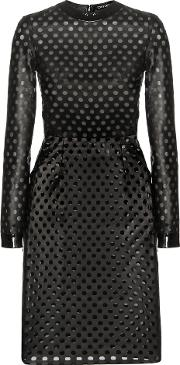 Tom Ford , Perforated Leather Dress
