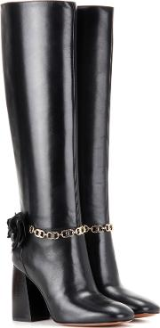 Tory Burch , Blossom 90 Leather Boots