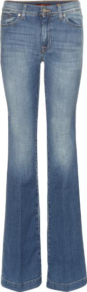 7 For All Mankind , Charlize Flared Jeans
