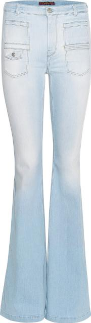 7 For All Mankind , Georgia Flared Jeans