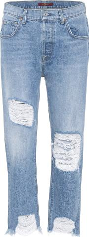 7 For All Mankind , Josefina Ripped Jeans