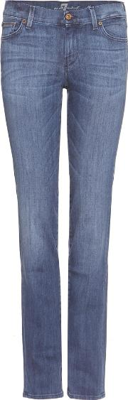 7 For All Mankind , The Straight Jeans