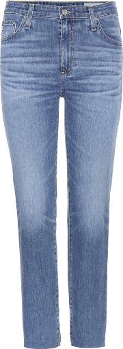 Ag Jeans , Isabelle Cropped Jeans