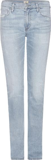 Citizens Of Humanity , Exclusive To Mytheresa.com Agnes Mid Rise Slim Straight Jeans