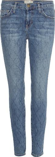 Currentelliott , The Stiletto Quilted Jeans