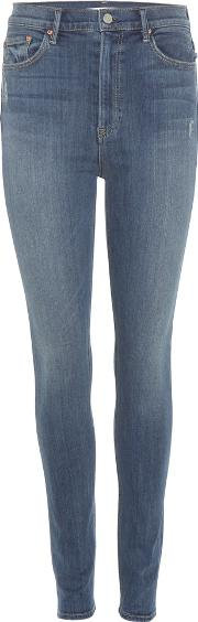 Grlfrnd , The Kendall High Rise Skinny Jeans