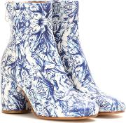 Maison Margiela , Printed Ankle Boots