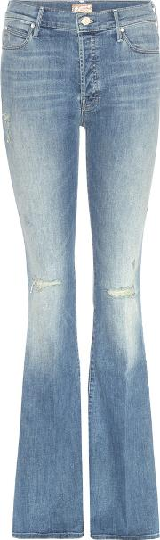 Mother , The Stunner Cruiser Flared Jeans