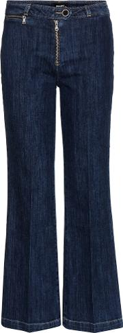 Paige , Milo Cropped Flared Jeans