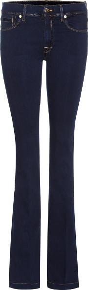7 For All Mankind , Charlize Flared Bootcut Jeans