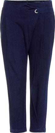 Ag Jeans , Wren Cropped Cotton Trousers