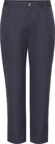 Apc , Isabelle Wool Blend Trousers