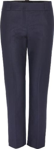 The Row , Blake Cotton-blend Trousers
