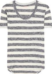 81hours , Gia Striped Cotton T Shirt