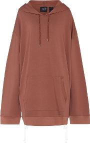 Fenty By Rihanna , Oversized Cotton Jersey Hoodie