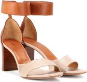 Chloe , Leather Sandals