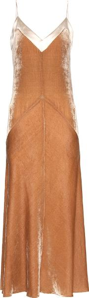 Hillier Bartley , Velvet Slip Dress
