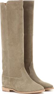 Isabel Marant , Etoile Cleave Concealed Wedge Suede Boots