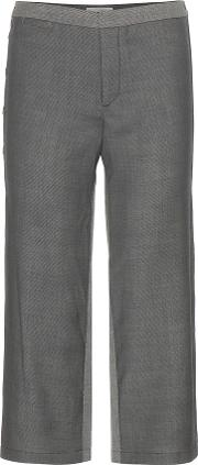 M Patmos , Cropped Wool Trousers