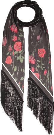 Rockins , Roses Classic Silk Scarf