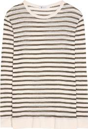 T By Alexander Wang , Striped Top