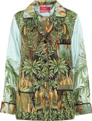 For Restless Sleepers , Printed Silk Shirt