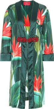 For Restless Sleepers , Silk Dressing Gown