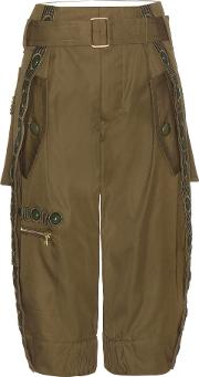 Marc Jacobs , Embellished Wool Cargo Trousers