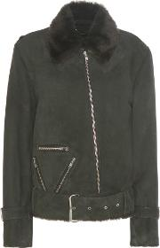 Public School , Exclusive To Mytheresa.com Cavallo Shearling Lined Suede Jacket