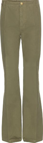 Tory Burch , Cotton Trousers