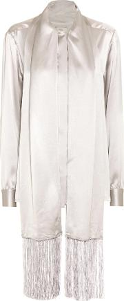 Hillier Bartley , Silk Satin Blouse